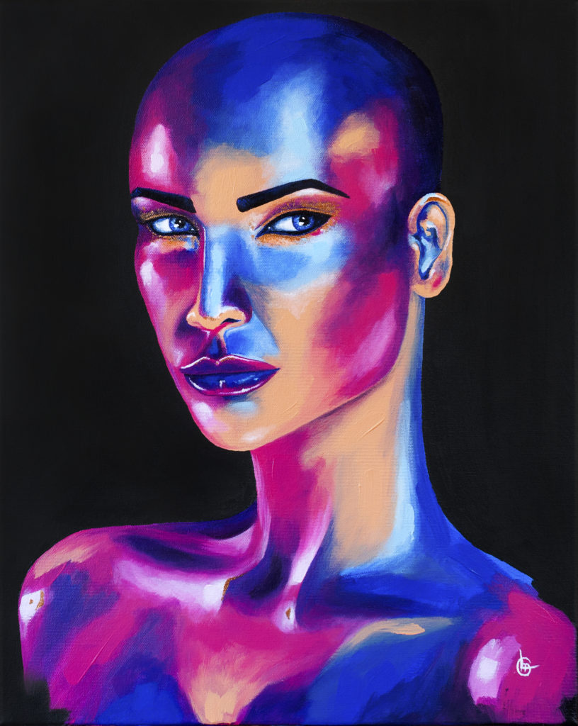 Modern acrylic painting ZIVA | CLM Art