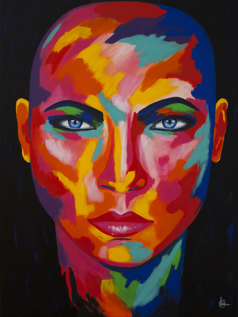 ALYN - Modern kleurrijk schilderij - CLM Art