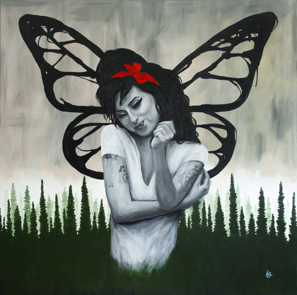 Schilderij Amy Winehouse | CLM Art