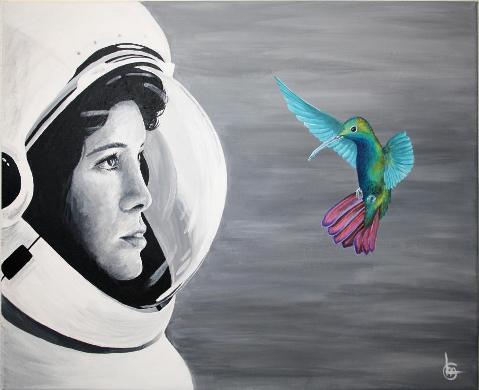 FACING FREEDOM - Schilderij - CLM Art