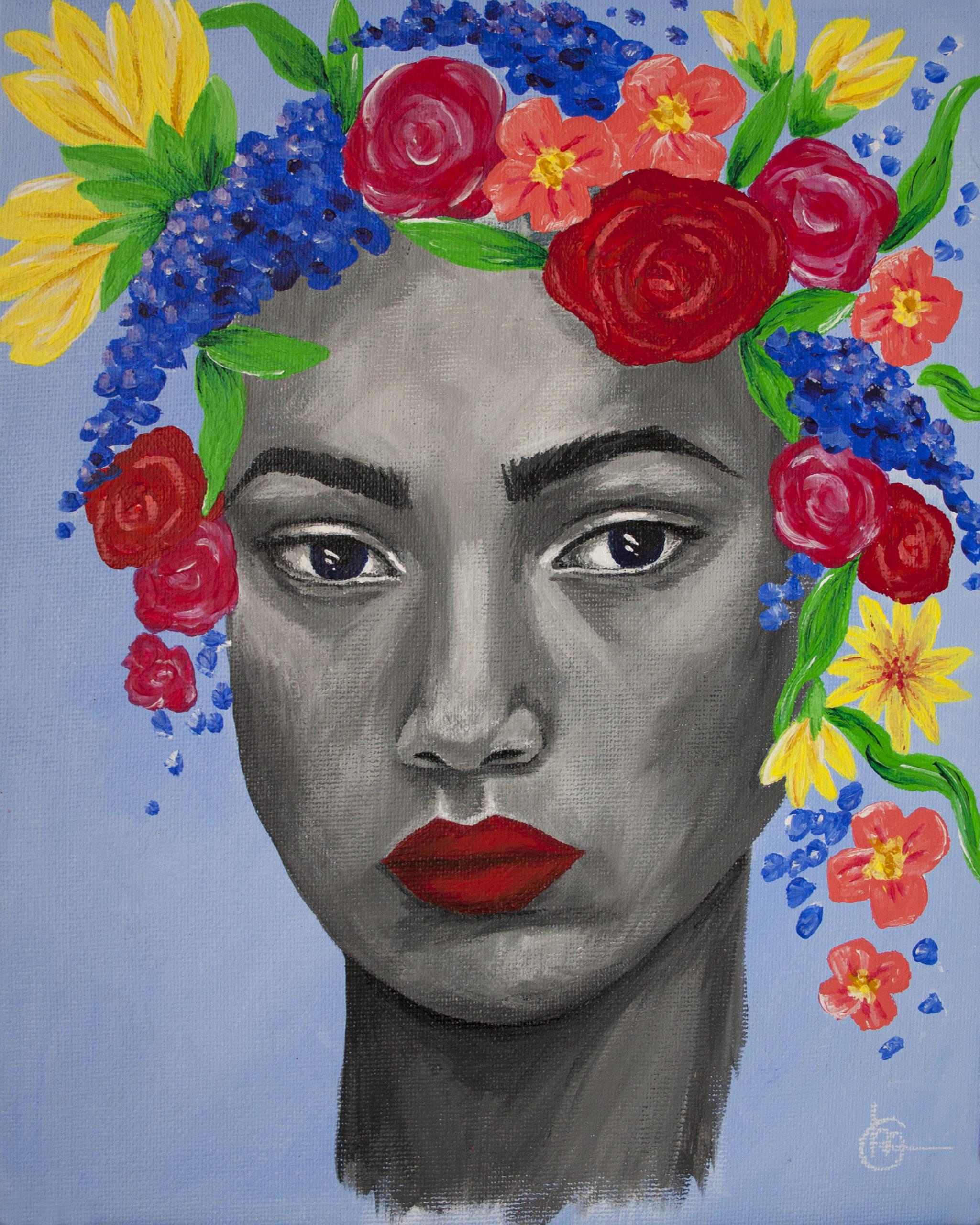 Schilderij FLORA - Bloemen | CLM Art