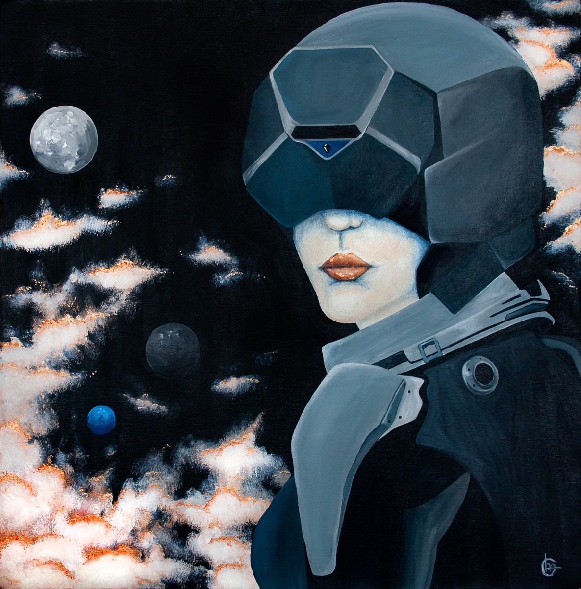 Schilderij Space | CLM Art
