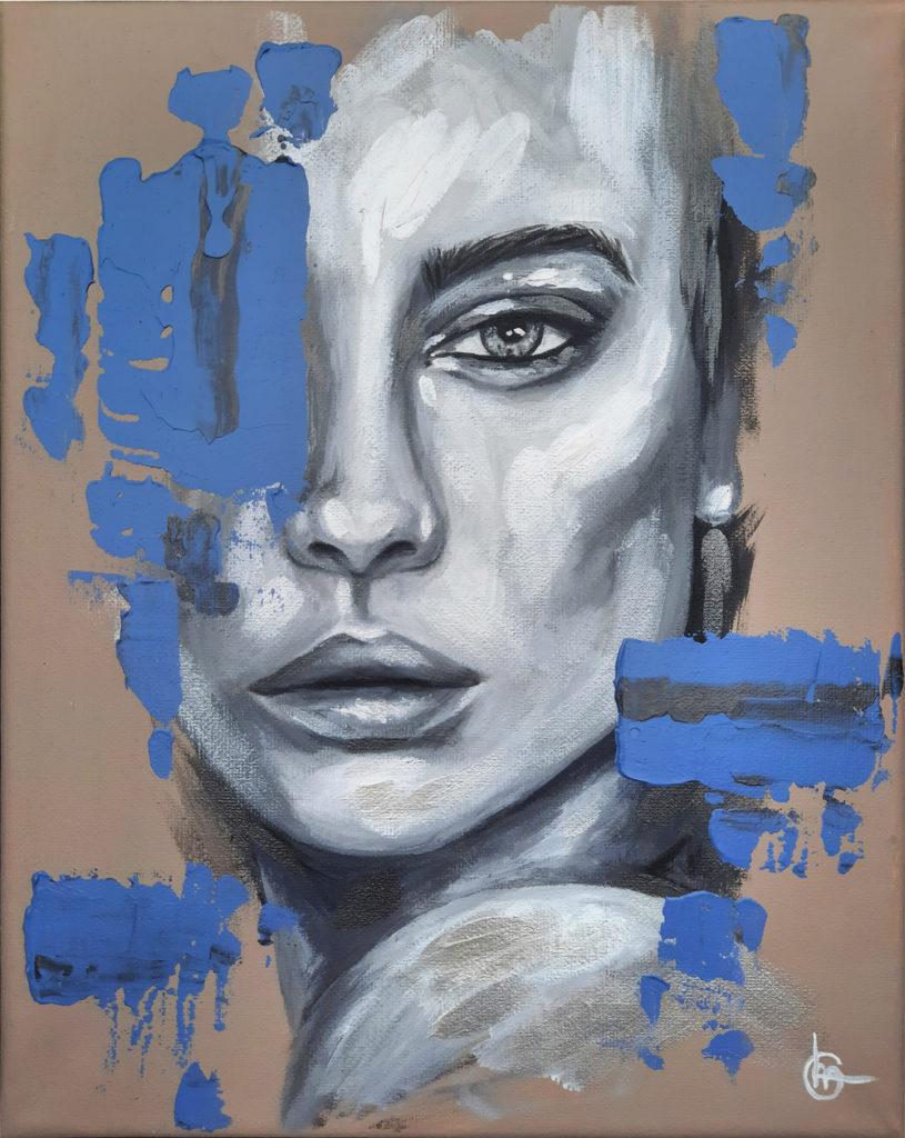 NEVA - Modern schilderij - Kunst - CLM Art