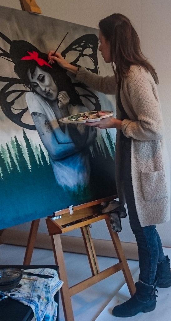Schilderij in opdracht - Kunst op maat | CLM Art